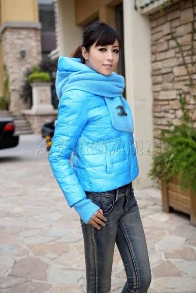 Как подобрать шарф к куртке