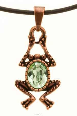 Купить Jenavi, Коллекция Кассида, Пипин (Кулон), цвет - медный, зеленый
