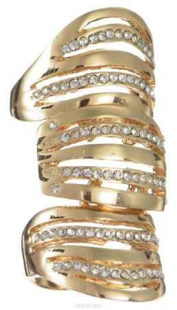 Купить Кольцо Happy Charms Family, цвет: золотистый. NOAJ0797. Размер 19