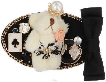 Купить Брошь Happy Charms Family, цвет: черный, слоновая кость. NOAK0216