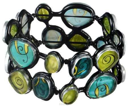 Купить Браслет Lalo Treasures Dragonfly IV, цвет: зеленый, голубой. B2544-1
