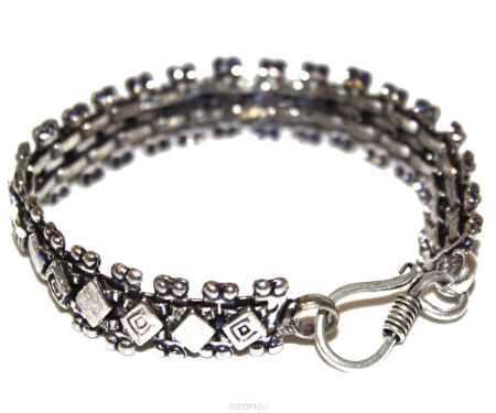 Купить Браслет Ethnica, цвет: серебряный. 228050