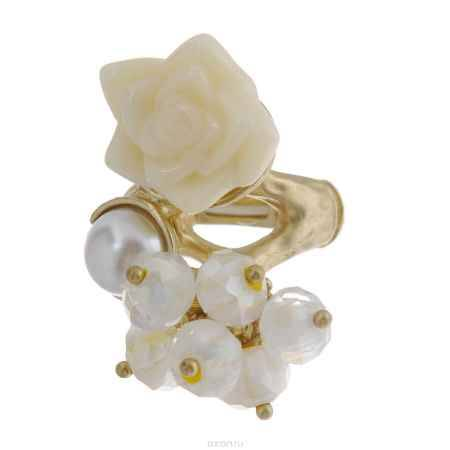 Купить Кольцо Avgad, цвет: золотистый, белый. EA178JW154