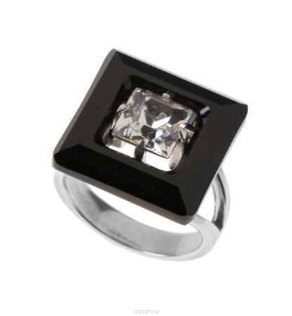 Купить Кольцо Jenavi Коллекция Тайны вселенной Центариус, цвет: серебряный, черный. b8283060. Размер 19