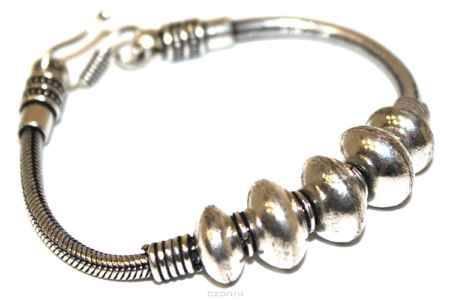Купить Браслет Ethnica, цвет: серебряный. 238085
