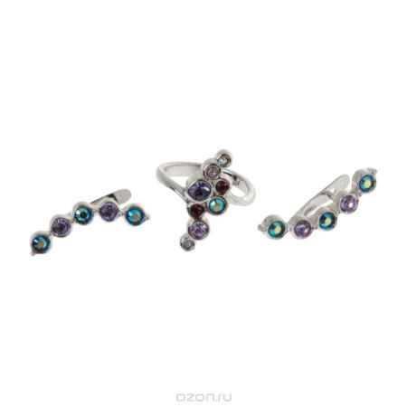 Купить Jenavi Коллекция Десерт, Суфле (Набор), цвет - серебряный, фиолетовый, размер - 18