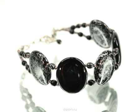 Купить Браслет Bohemia Style, цвет: черный, серебряный. BW1258 9637 47