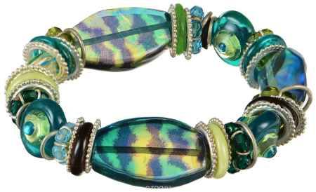 Купить Браслет Lalo Treasures ROW, цвет: зеленый, синий. B2502-1