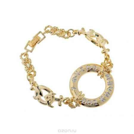 Купить Jenavi Коллекция Морской круиз, Такелаж (Браслет), цвет - золотой