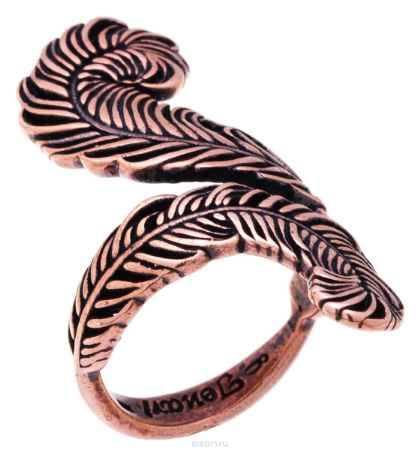 Купить Jenavi, Коллекция Feather, Гис (Кольцо), цвет - медный, , размер - 16