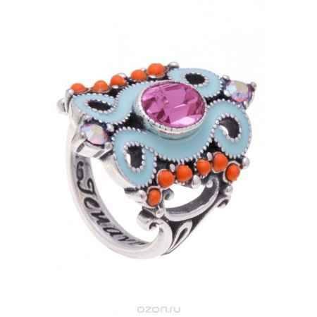 Купить Jenavi Коллекция Шер, Шер (Кольцо), цвет - серебро, розовый, размер - 19