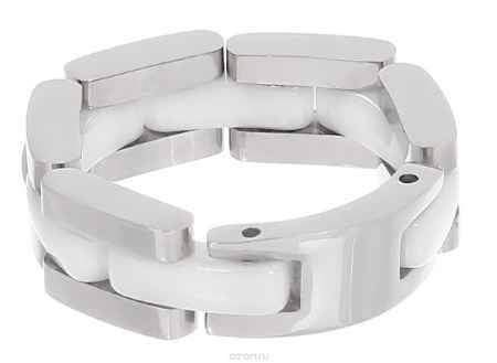 Купить Кольцо Art-Silver, цвет: серебряный, белый. STS072-540. Размер 18