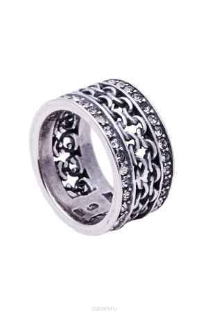 Купить Кольцо Jenavi Коллекция Relax Макатава, цвет: серебряный, белый. r9663000. Размер 16