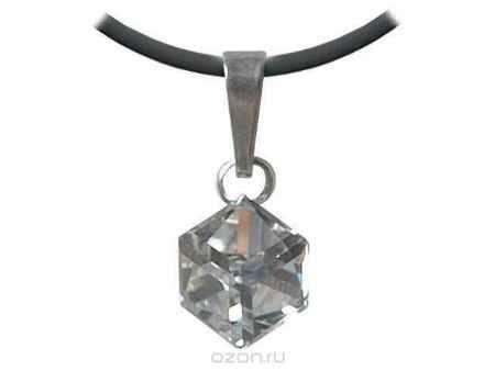 Купить Кулон Jenavi Коллекция Леди Орест, цвет: серебряный, белый. d5503900. Размер 45