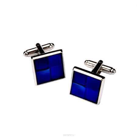 Купить Запонки мужские Mitya Veselkov Классика в синем. ZAP-221