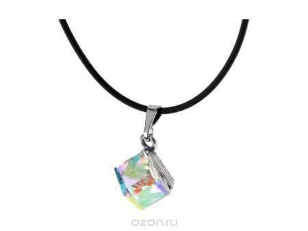 Купить Кулон Jenavi Коллекция Леди Египет, цвет: серебряный, мультиколор. d3383970. Размер 1,5x1,5, шнур 45