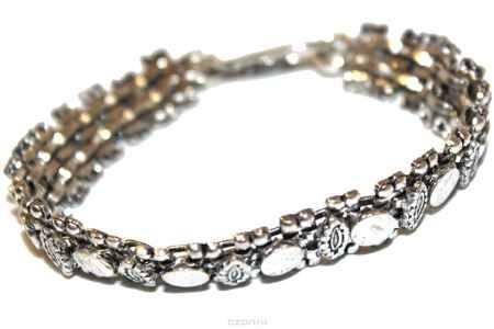 Купить Браслет Ethnica, цвет: серебряный. 234065