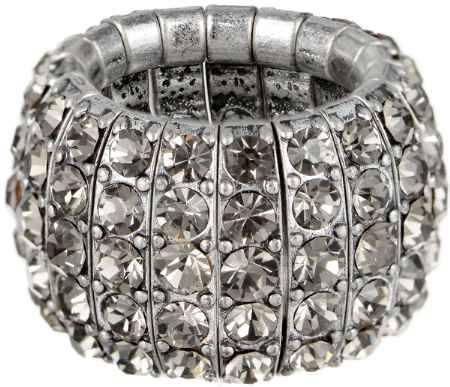Купить Кольцо Taya, цвет: серебристый. T-B-3580