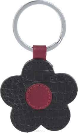 Купить Брелок женский Petek 1855, цвет: черный, бордовый. 1512.067.01