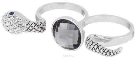 Купить Кольцо на два пальца Art-Silver, цвет: серебристый. 02028-2-1067. Размер 17,5