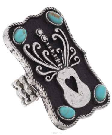 Купить Кольцо Avgad, цвет: серебристый, черный. EA178JW269