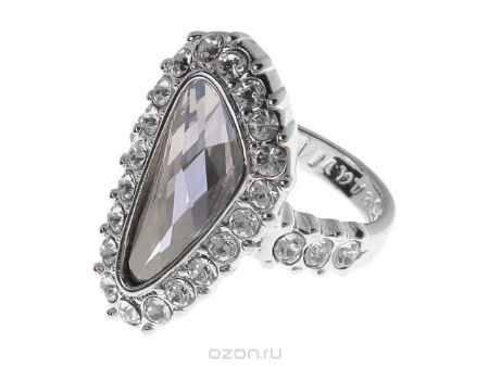 Купить Кольцо Jenavi Коллекция Айсберг Морена, цвет: серебряный, серый. r440f066. Размер 18