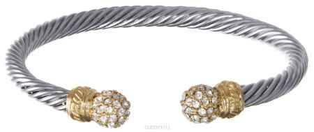 Купить Браслет Taya, цвет: серебристый, золотистый. T-B-5961