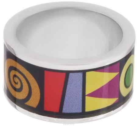 Купить Кольцо Art-Silver, цвет: серебристый, черный, мультиколор. ФК104-1-320. Размер 18,5