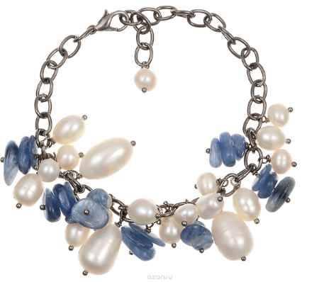 Купить Браслет Polina Selezneva, цвет: синий, белый, черный. 002-2817