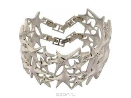 Купить Браслет Jenavi Коллекция Звездочет Цефея, цвет: серебряный, белый. e050f400. Размер 15