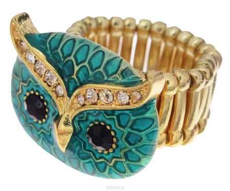 Купить Кольцо Avgad, цвет: золотистый, бирюзовый. EA178JW304