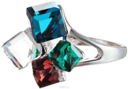 Купить Кольцо Happy Charms Family, цвет: серебряный, мультицвет. NOAJ0251. Размер 19