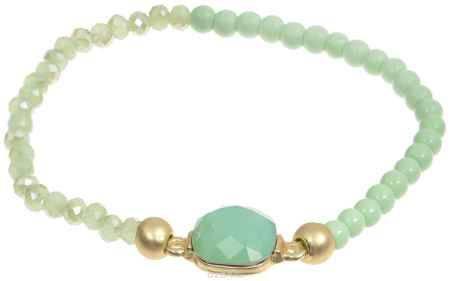 Купить Браслет женский Модные истории, цвет: зеленый. 11/0412
