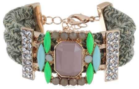 Купить Браслет Avgad, цвет: золотистый, зеленый. BR77KL158