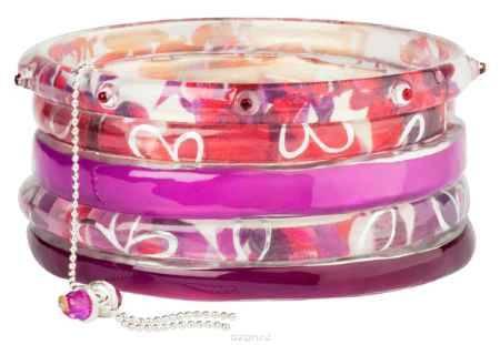 Купить Браслет Lalo Treasures Future Currents I, цвет: сиреневый. Bn2527-1