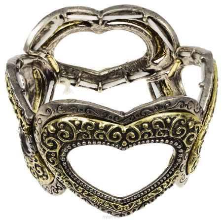 Купить Браслет Fashion House, цвет: бронза, черненое серебро. FH26291