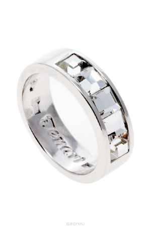 Купить Кольцо Jenavi Коллекция Quadro Нелио, цвет: серебряный, белый. r846f000. Размер 16