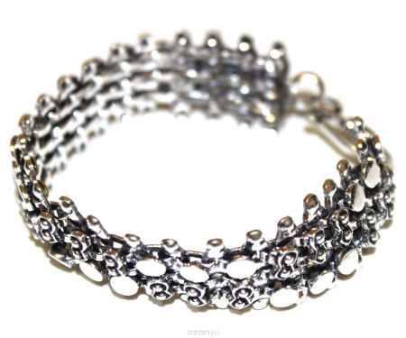 Купить Браслет Ethnica, цвет: серебряный. 233060