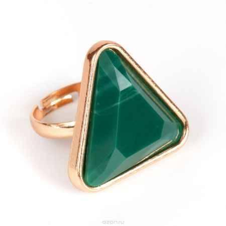 Купить Кольцо жен. Selena Street Fashion, цвет: зеленый, золотистый. 60025200