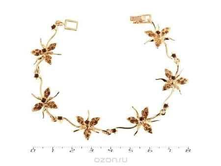 Купить Браслет Jenavi Коллекция Королева ночи Гудалеара, цвет: золотой, мультиколор. j109p470. Размер 18