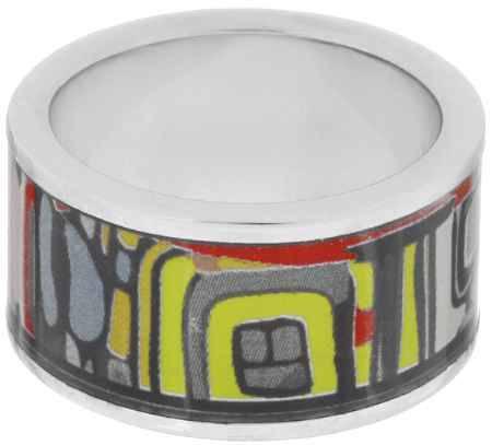 Купить Кольцо Art-Silver, цвет: серебристый, мультиколор. ФК114-1-320. Размер 16,5