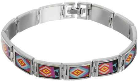 Купить Браслет Art-Silver, цвет: серебряный, мультиколор. ФБ320-490
