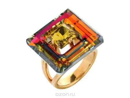 Купить Кольцо Jenavi Коллекция Тайны вселенной Центариус, цвет: золотой, мультиколор. b828p070. Размер 17