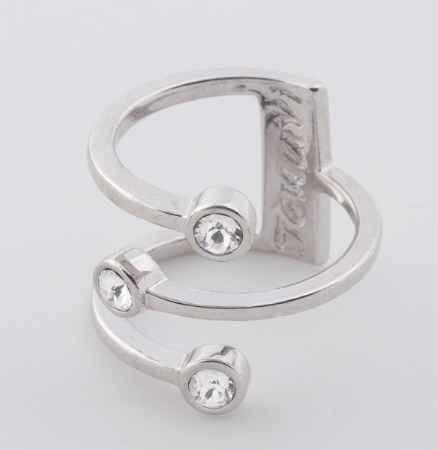 Купить Jenavi, Коллекция Триада, Тримурти (Кольцо), цвет - серебряный, белый, размер - 20
