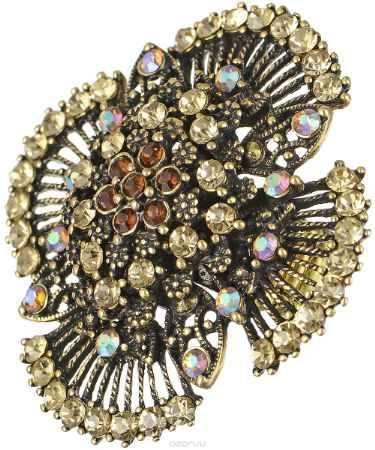 Купить Кольцо Taya, цвет: золотистый. T-B-7610