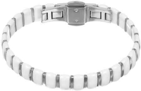 Купить Браслет женский Art-Silver, цвет: серебряный, белый. КБ307-1319