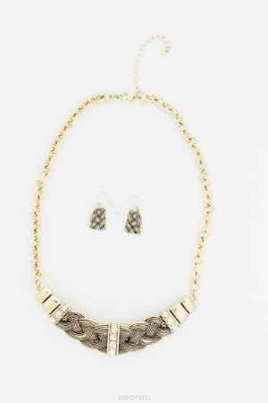 Купить Комплект украшений Avgad: колье, серьги; цвет: золотистый. L27-6317/SET