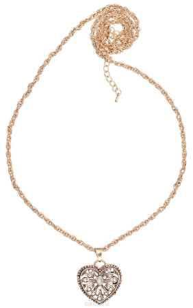 Купить Кулон Happy Garnets, цвет: золотистый. NOAZ0146
