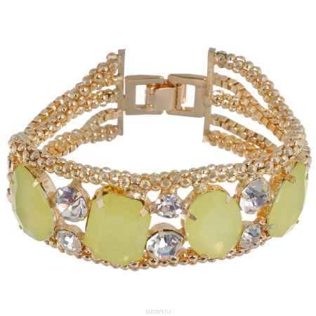 Купить Браслет Avgad, цвет: золотистый, светло-зеленый. BR77KL90