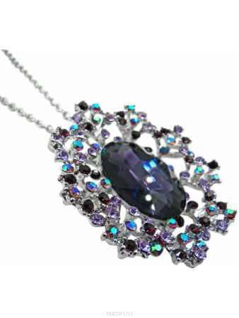 Купить Подвеска Taya, цвет: серебристый, фиолетовый. T-B-10349